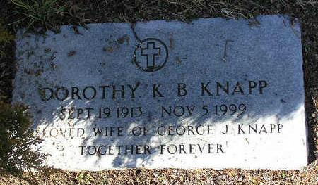 KNAPP, DOROTHY K. B. - Yavapai County, Arizona | DOROTHY K. B. KNAPP - Arizona Gravestone Photos