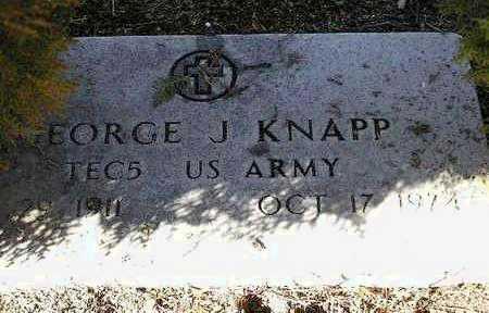 KNAPP, GEORGE JACOB - Yavapai County, Arizona | GEORGE JACOB KNAPP - Arizona Gravestone Photos
