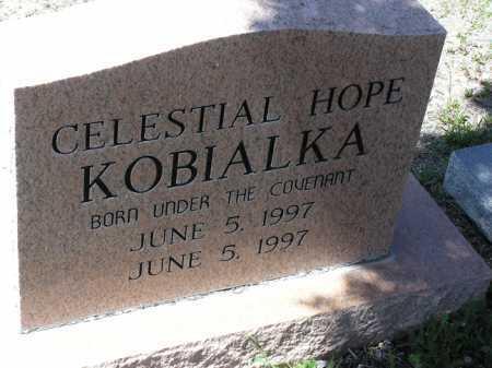 KOBIALKA, CELESTIAL HOPE - Yavapai County, Arizona   CELESTIAL HOPE KOBIALKA - Arizona Gravestone Photos