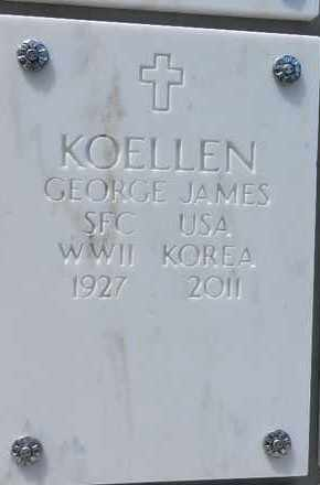 KOELLEN, GEORGE JAMES - Yavapai County, Arizona | GEORGE JAMES KOELLEN - Arizona Gravestone Photos