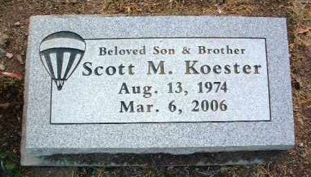 KOESTER, SCOTT M. - Yavapai County, Arizona | SCOTT M. KOESTER - Arizona Gravestone Photos