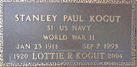 KOGUT, STANLEY PAUL - Yavapai County, Arizona | STANLEY PAUL KOGUT - Arizona Gravestone Photos