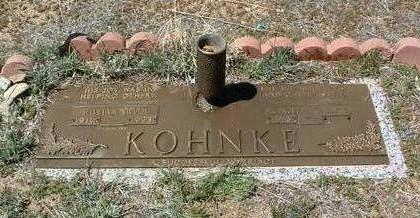 KOHNKE, WILLIAM H.  (BILL) - Yavapai County, Arizona | WILLIAM H.  (BILL) KOHNKE - Arizona Gravestone Photos