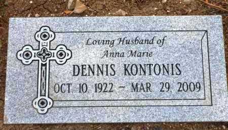 KONTONIS, DENNIS - Yavapai County, Arizona | DENNIS KONTONIS - Arizona Gravestone Photos
