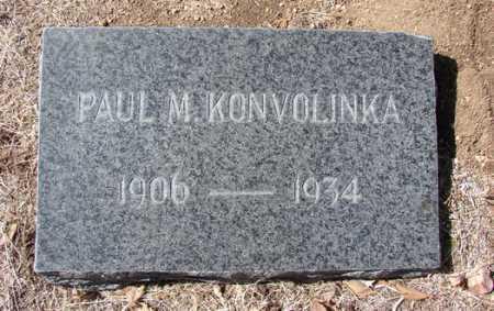 KONVOLINKA, PAUL MATTHEW - Yavapai County, Arizona | PAUL MATTHEW KONVOLINKA - Arizona Gravestone Photos