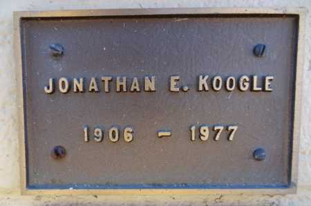 KOOGLE, JOHATHAN EDWARD - Yavapai County, Arizona | JOHATHAN EDWARD KOOGLE - Arizona Gravestone Photos