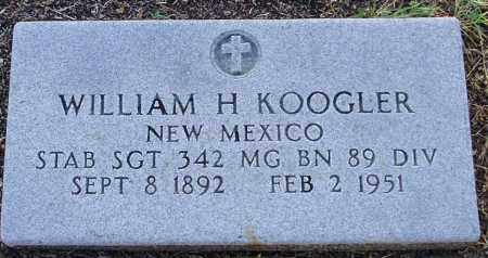KOOGLER, WILLIAM HOUSEL - Yavapai County, Arizona | WILLIAM HOUSEL KOOGLER - Arizona Gravestone Photos