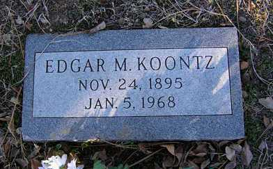 KOONTZ, EDGAR - Yavapai County, Arizona | EDGAR KOONTZ - Arizona Gravestone Photos