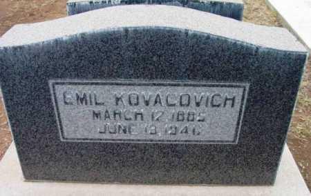 KOVACOVICH, EMIL - Yavapai County, Arizona | EMIL KOVACOVICH - Arizona Gravestone Photos