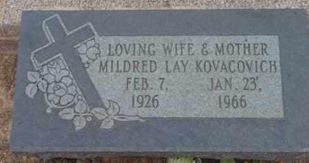 KOVACOVICH, MILDRED GRACE - Yavapai County, Arizona | MILDRED GRACE KOVACOVICH - Arizona Gravestone Photos