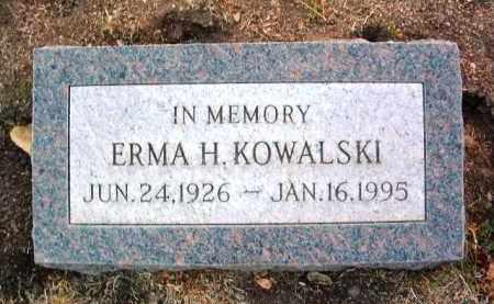 KOWALSKI, ERMA H. - Yavapai County, Arizona | ERMA H. KOWALSKI - Arizona Gravestone Photos