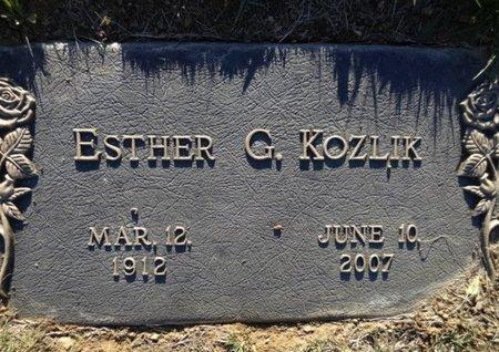 KOZLIK, ESTHER GERALDINE - Yavapai County, Arizona | ESTHER GERALDINE KOZLIK - Arizona Gravestone Photos