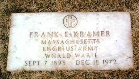 KRAMER, FRANK E. - Yavapai County, Arizona | FRANK E. KRAMER - Arizona Gravestone Photos