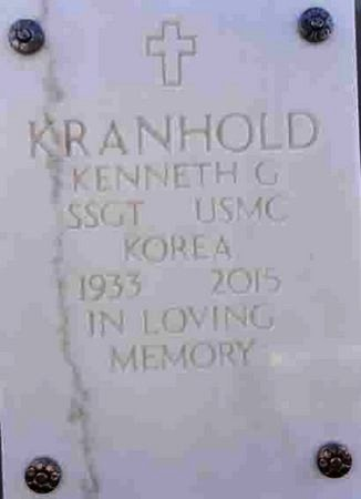 KRANHOLD, KENNETH GEO. - Yavapai County, Arizona   KENNETH GEO. KRANHOLD - Arizona Gravestone Photos