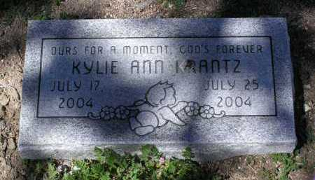KRANTZ, KYLIE ANN - Yavapai County, Arizona | KYLIE ANN KRANTZ - Arizona Gravestone Photos