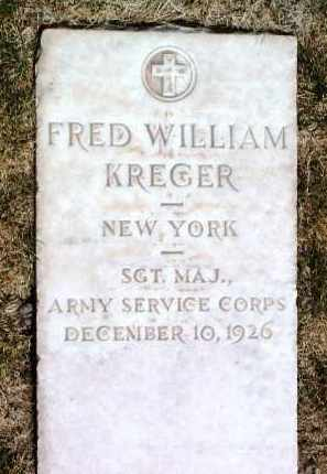 KREGER, FRED WILLIAM - Yavapai County, Arizona | FRED WILLIAM KREGER - Arizona Gravestone Photos