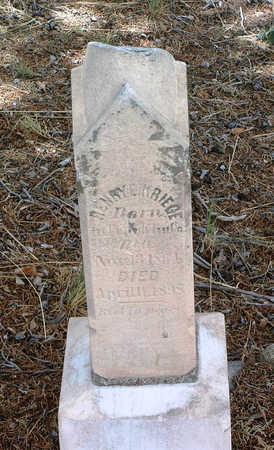 KRIEGE, HENRY E. - Yavapai County, Arizona | HENRY E. KRIEGE - Arizona Gravestone Photos
