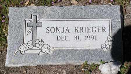 KRIEGER, SONJA - Yavapai County, Arizona   SONJA KRIEGER - Arizona Gravestone Photos