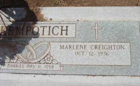 CREIGHTON KRMPOTICH, MARLENE - Yavapai County, Arizona | MARLENE CREIGHTON KRMPOTICH - Arizona Gravestone Photos