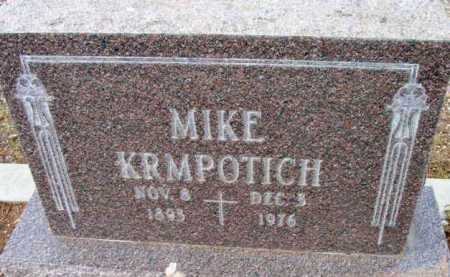 KRMPOTICH, MIKE - Yavapai County, Arizona | MIKE KRMPOTICH - Arizona Gravestone Photos