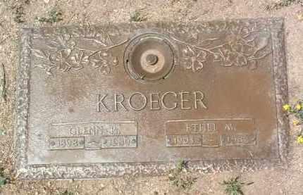 KROEGER, GLENN RUSSELL - Yavapai County, Arizona | GLENN RUSSELL KROEGER - Arizona Gravestone Photos