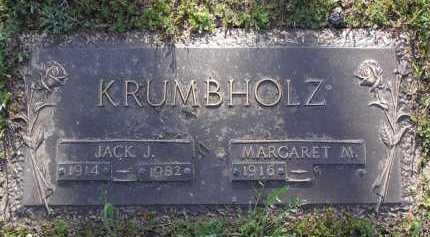 KRUMBHOLZ, JACK J. - Yavapai County, Arizona | JACK J. KRUMBHOLZ - Arizona Gravestone Photos