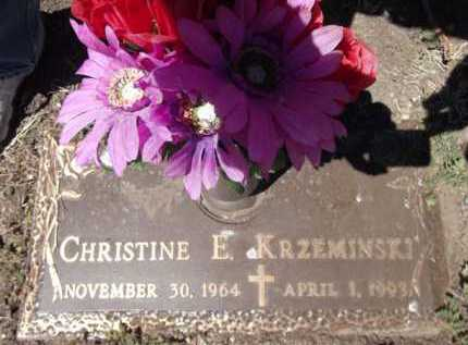 KRZEMINSKI, CHRISTINE E. - Yavapai County, Arizona | CHRISTINE E. KRZEMINSKI - Arizona Gravestone Photos