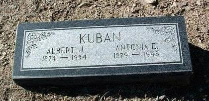 KUBAN, ANTONIA D. - Yavapai County, Arizona | ANTONIA D. KUBAN - Arizona Gravestone Photos