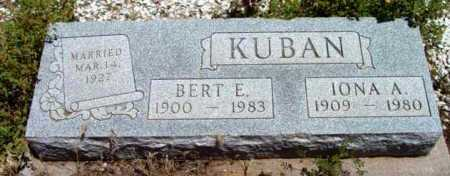 KUBAN, BERT E. - Yavapai County, Arizona | BERT E. KUBAN - Arizona Gravestone Photos