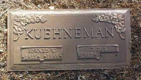 KUEHNEMAN, EDWARD WM. - Yavapai County, Arizona | EDWARD WM. KUEHNEMAN - Arizona Gravestone Photos