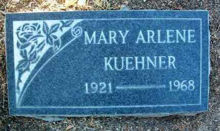 HUMBURG KUEHNER, MARY ARLENE - Yavapai County, Arizona | MARY ARLENE HUMBURG KUEHNER - Arizona Gravestone Photos