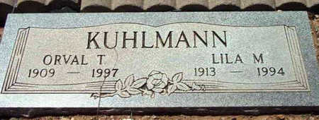 KUHLMANN, LILA MARGUERITE - Yavapai County, Arizona | LILA MARGUERITE KUHLMANN - Arizona Gravestone Photos