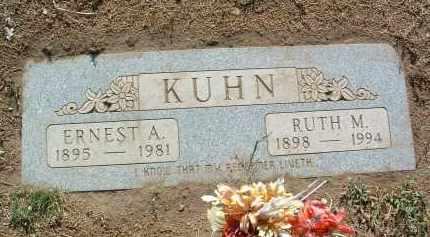 KUHN, ERNEST ALEXANDER - Yavapai County, Arizona | ERNEST ALEXANDER KUHN - Arizona Gravestone Photos