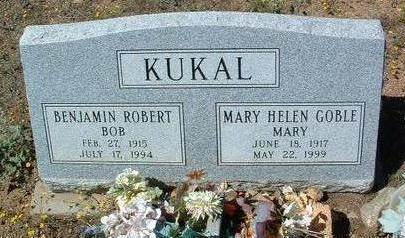 GOBEL KUKAL, MARY HELEN - Yavapai County, Arizona | MARY HELEN GOBEL KUKAL - Arizona Gravestone Photos