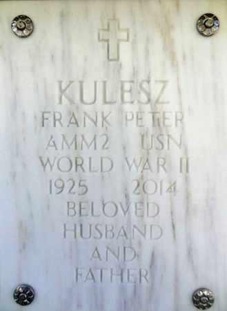 KULESZ, FRANK PETER - Yavapai County, Arizona | FRANK PETER KULESZ - Arizona Gravestone Photos