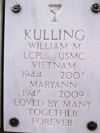 KULLING, WILLIAM MORRIS - Yavapai County, Arizona | WILLIAM MORRIS KULLING - Arizona Gravestone Photos