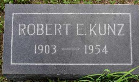 KUNZ, ROBERT E. - Yavapai County, Arizona   ROBERT E. KUNZ - Arizona Gravestone Photos