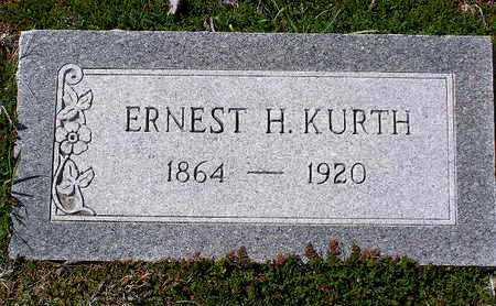 KURTH, ERNEST H. - Yavapai County, Arizona | ERNEST H. KURTH - Arizona Gravestone Photos
