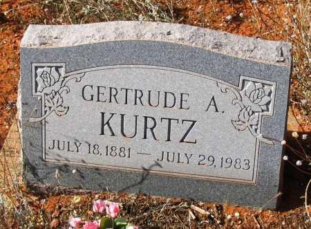 YOUNG KURTZ, GERTRUDE - Yavapai County, Arizona   GERTRUDE YOUNG KURTZ - Arizona Gravestone Photos
