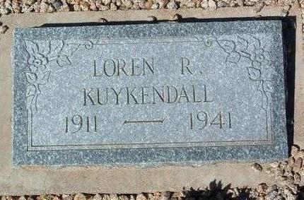 KUYKENDALL, LOREN ROGER - Yavapai County, Arizona | LOREN ROGER KUYKENDALL - Arizona Gravestone Photos