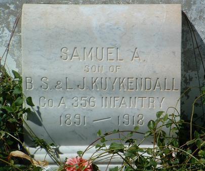 KUYKENDALL, SAMUEL A. - Yavapai County, Arizona   SAMUEL A. KUYKENDALL - Arizona Gravestone Photos