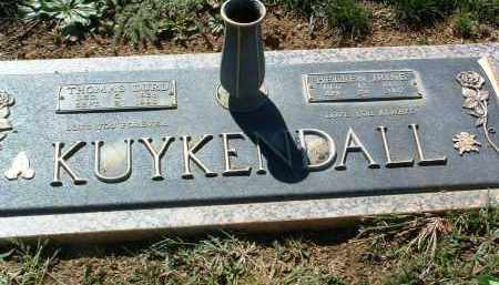 KUYKENDALL, THOMAS DURL - Yavapai County, Arizona | THOMAS DURL KUYKENDALL - Arizona Gravestone Photos