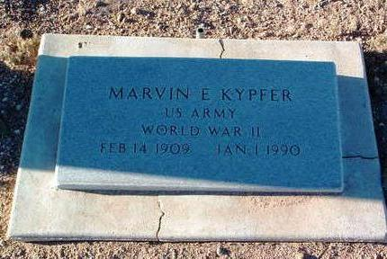 KYPFER, MARVIN E. - Yavapai County, Arizona | MARVIN E. KYPFER - Arizona Gravestone Photos