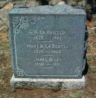LA BERTEU, MARY ANN - Yavapai County, Arizona | MARY ANN LA BERTEU - Arizona Gravestone Photos