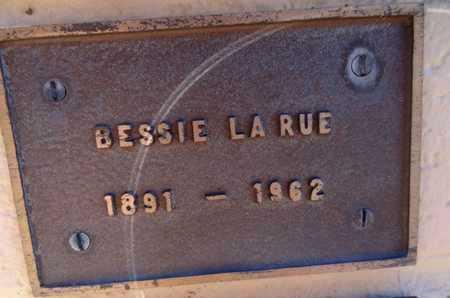 LARUE, BESSIE - Yavapai County, Arizona | BESSIE LARUE - Arizona Gravestone Photos