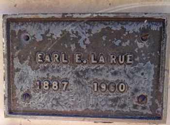 LARUE, EARL EDGAR - Yavapai County, Arizona | EARL EDGAR LARUE - Arizona Gravestone Photos