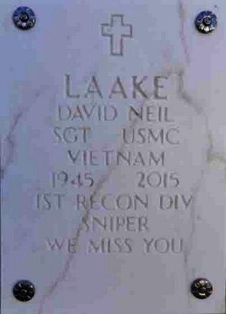 LAAKE, DAVID NEIL - Yavapai County, Arizona   DAVID NEIL LAAKE - Arizona Gravestone Photos