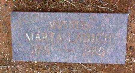 LADICH, MARTA - Yavapai County, Arizona   MARTA LADICH - Arizona Gravestone Photos