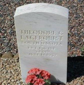 LAGERQUIST, THEODORE GOTTARD - Yavapai County, Arizona | THEODORE GOTTARD LAGERQUIST - Arizona Gravestone Photos