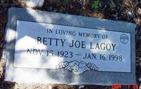 LAGOY, BETTY JOE - Yavapai County, Arizona | BETTY JOE LAGOY - Arizona Gravestone Photos